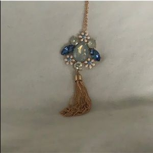 NEW NEVER WORN Long Statement Necklace From Lulu's